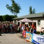 """Start zum 12. Knappenseelauf beim Wassersportverein """"Am Blauen Wunder"""" in Großsärchen."""